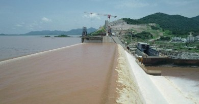 The Grand Ethiopian Renaissance Dam (GERD). Photo Credit: Ethiopian Electric Power Corporation (EEPCO)