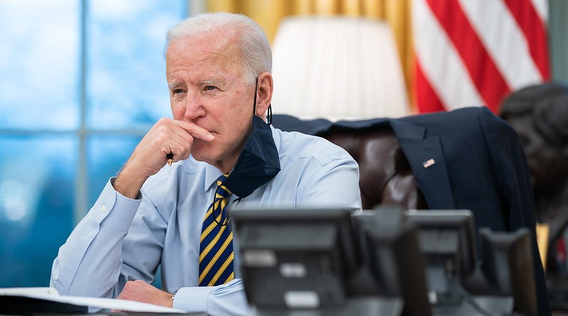 US President Joe Biden. (Official White House Photo by Lawrence Jackson)