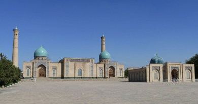 Tashkent Mosque Uzbekistan Islam Central Asia