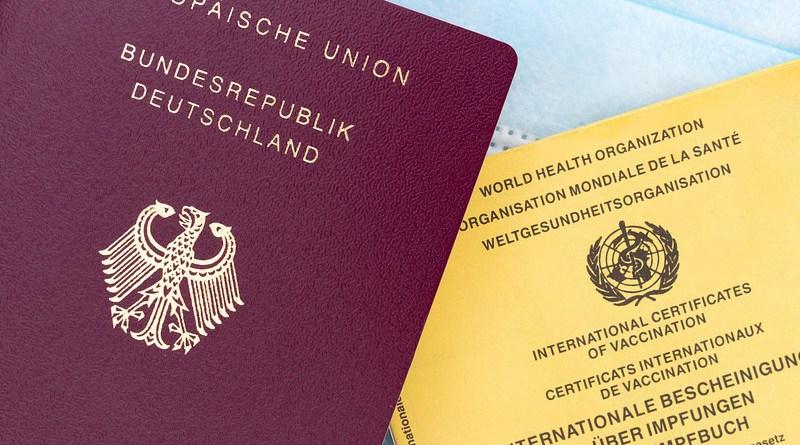Passport Vaccination Certificate Vaccination