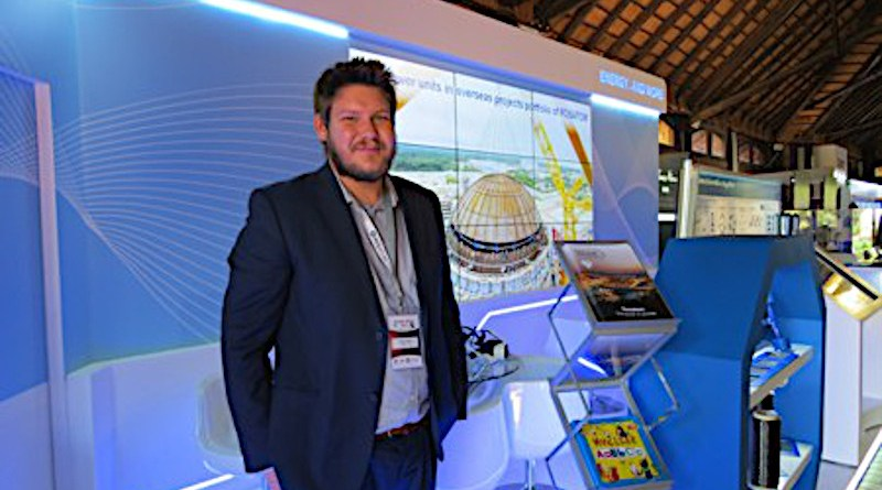 Ryan Collyer, Regional Vice-President of Rosatom for Sub-Saharan Africa. (Photo supplied)