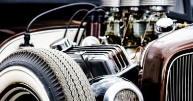 Hot Rod Racing Auto Vehicle Chrome Drive Wheel Classic Motor Automotive