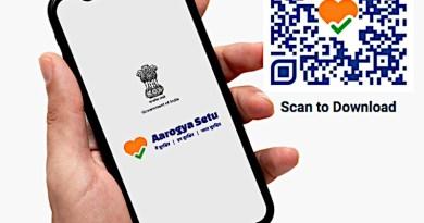 Aarogya Setu app. Photo Credit: India government