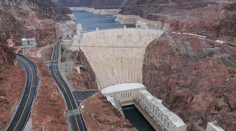 Hoover Dam Colorado River Nevada Arizona
