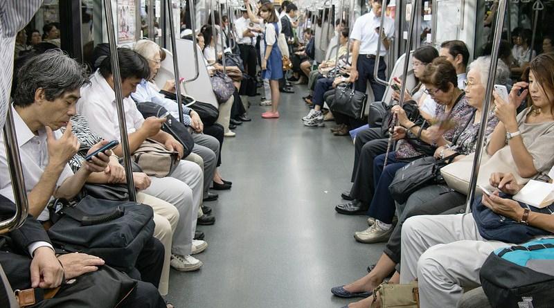 smartphone Tokyo Asia Japan Human Metro City Urban