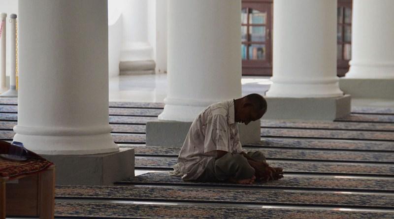 Ramadan Malaysia Asia Mosque Praying Muslim Islam Religion Pray Islamic