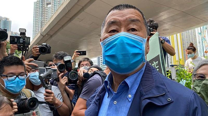 File photo of Jimmy Lai. Photo Credit: Iris Tong, VOA, Wikipedia Commons