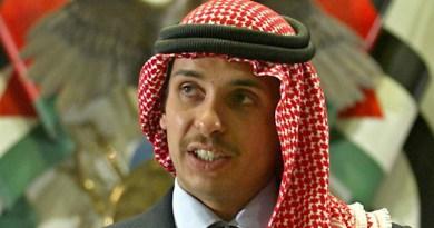 Jordan's Prince Hamzah bin Hussein. Photo Credit: Fars News Agency