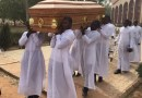 A funeral Mass in Nigeria./ Aid to the Church in Need.