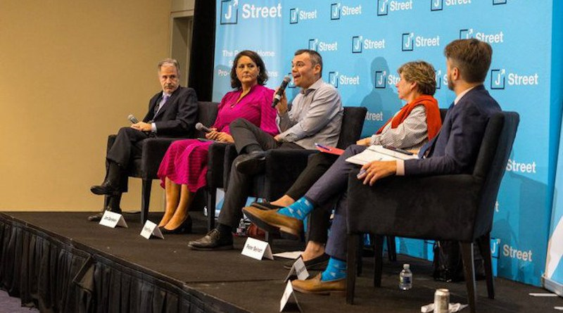 Panelists at the J Street conference on April 18-19, 2021. (Photo courtesy: jstreet.org)