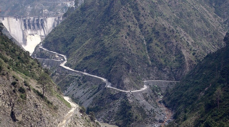 Baglihar Dam on river Chenab in Doda district of Indian state of Jammu and Kashmir. Photo Credit: Vinayak.razdan, Wikipedia Commons