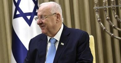 Israel's President Reuven Rivlin. Photo Credit: Kremlin.ru