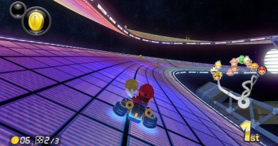 Mario Kart gives players falling behind in the race the best power-ups, designed to bump them towards the front of the pack and keep them in the race. Meanwhile, faster players in the front don't get these same boosts. CREDIT Photo courtesy of The Brink staff