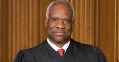 Clarence Thomas, Associate Justice of the Supreme Court of the United States. Photo Credit: Steve Petteway, Wikipedia Commons