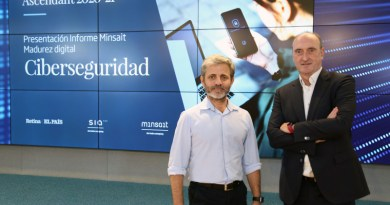 Minsait - SIA Infor Ascendant Ciber - Carlos Beldarrain and Luis Álvarez. Photo Credit: Indra