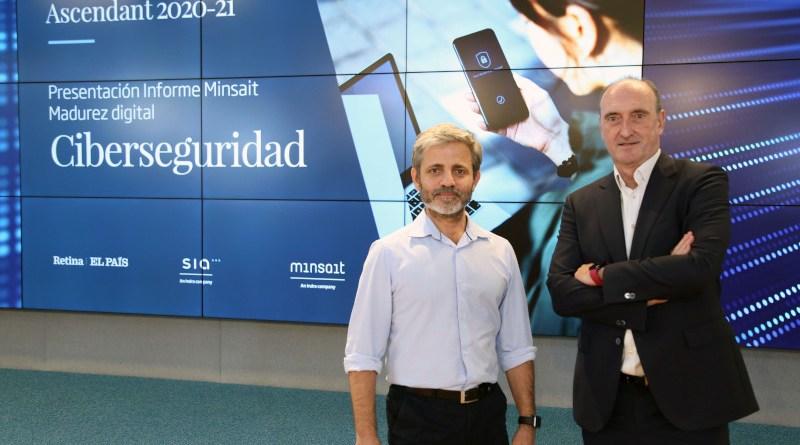 Minsait - SIA Infor Ascendant Ciber - Carlos Beldarrain and Luis Álvarez. Photo Credit: Indra