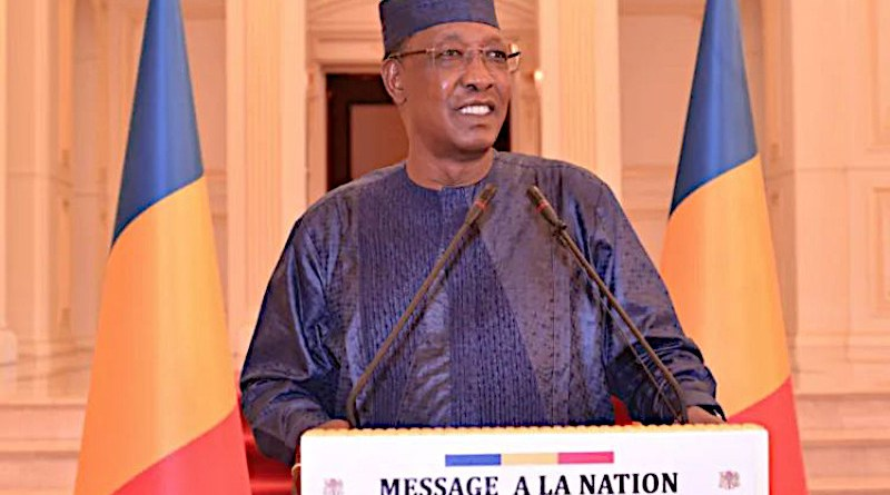 Idriss Déby, president of Chad from 1990 until his death on April 20, 2021, from battlefield injuries./ Presidency of the Republic of Chad.