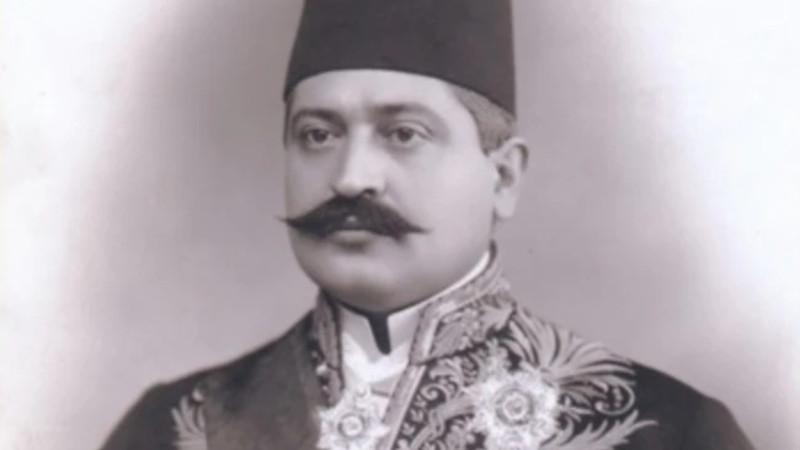 Ottoman Interior Minister Talaat Pasha. (Photo public domain)