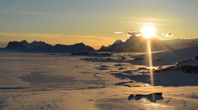 Today, Antarctic winds usually blow from the continent out to the sea CREDIT Svein Østerhus