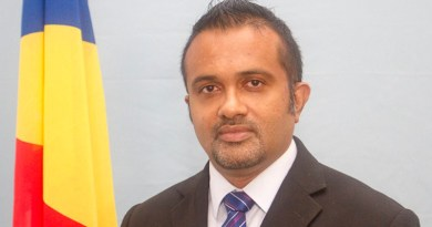 Seychelles' Finance Minister Naadir Hassan. Photo Credit: Seychelles News Agency, Wikipedia Commons