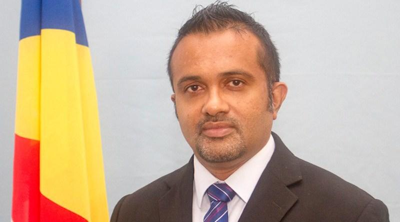 Seychelles' Finance Minister Naadir Hassan. Photo Credit: Seychelles News Agency, Wikipedia Commons
