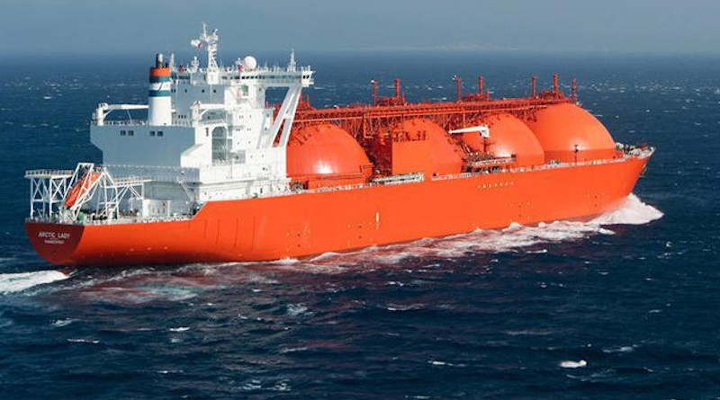 File photo of a LNG Carrier. Photo Credit: Total