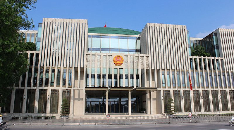 National Assembly of Vietnam, Hanoi. Photo Credit: Grayswoodsurrey, Wikipedia Commons