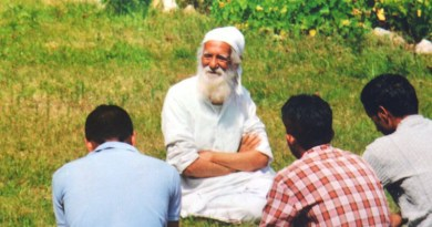 Sunderlal Bahuguna. Credit: Wikimedia Commons