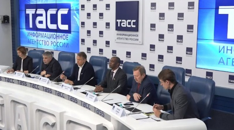 Russkiy Mir - Organiser Russia- Africa Media Conference, May 2021 (Photo supplied)