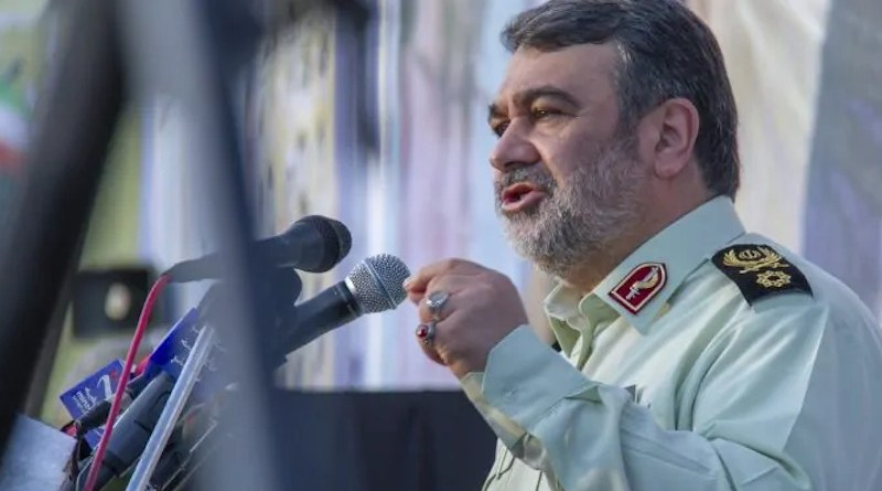 Iran Chief of Police Hossein Ashtari. Photo Credit: Iran News Wire