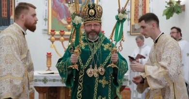 Major Archbishop Sviatoslav Shevchuk, head of the Ukrainian Greek Catholic Church./ Aid to the Church in Need.