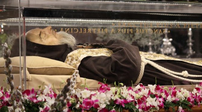 St. Pio of Pietrelcina/ Alexey Gotovskiy/CNA