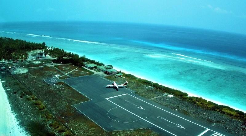 Agatti, Lakshadweep airport. Photo Credit: Lakshadweep government website