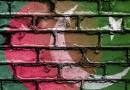 Flags of Bangladesh and Pakistan