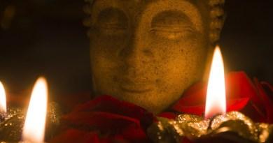 Buddha buddhism Candle Flame Candlelight Burnt Wax Celebration