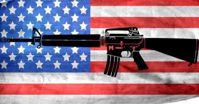 gun flag assault weapon united states