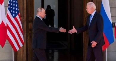 Russia's President Vladimir Putin with US President Joe Biden. Photo Credit: Fars News Agency