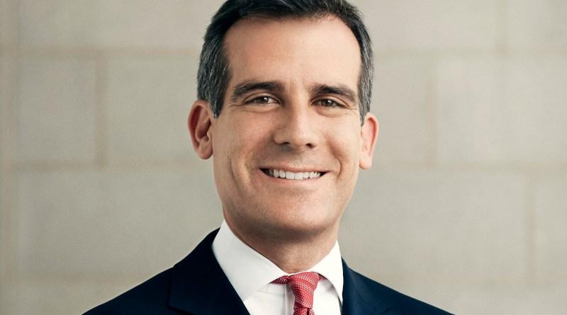 Los Angeles Mayor Eric Garcetti. Photo Credit: Emily Shur, Wikipedia Commons