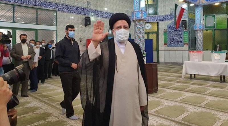 Iran's Ebrahim Raeisi. Photo Credit: Mehr News Agency