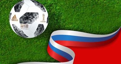 russia football soccer flag