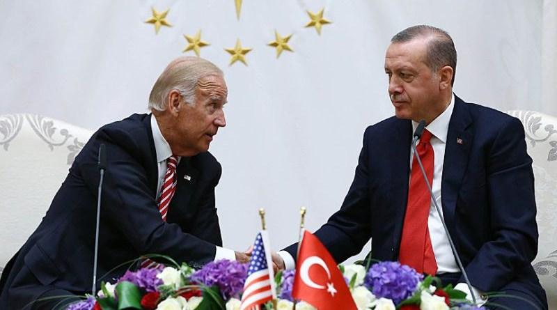 US President Joe Biden with Turkey's President Recep Tayyip Erdoğan. Photo Credit: Twitter