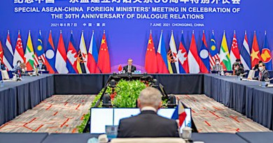 ASEAN-China Foreign Ministers meeting in Chongqing. Photo Credit: ASEAN