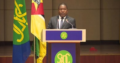 Mozambique's President Filipe Nyusi at SADC (Photo supplied)