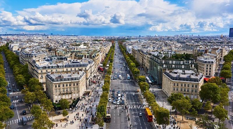Paris France Champs-Elysee