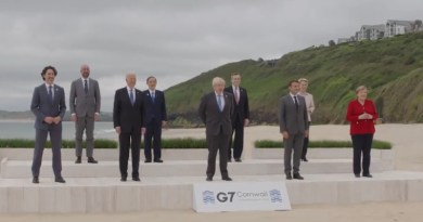 G-7 Summit in Cornwall, England. Photo Credit: The White House video screenshot