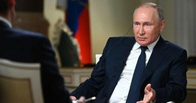 Russia's President Vladimir Putin during an interview to NBC correspondent Keir Simmons. Photo Credit: Kremlin.ru