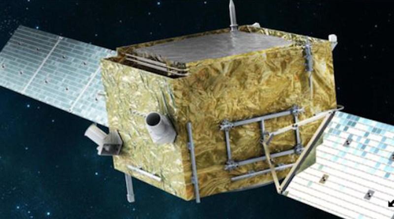 Dark Matter Particle Explorer CREDIT DAMPE Collaboration