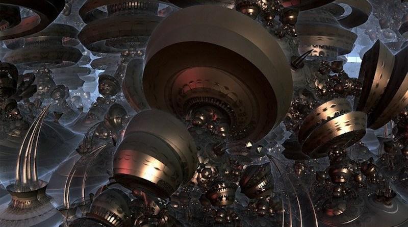 Quantum Computer Organic Modern Science Space