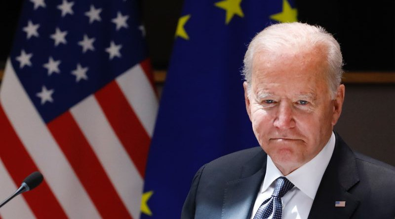 US President Joe Biden during the EU-US summit on 15 June. [Photo Credit: EU]