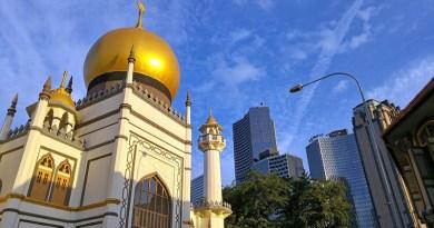 Singapore Sultan Mosque Architecture Muslim Asia